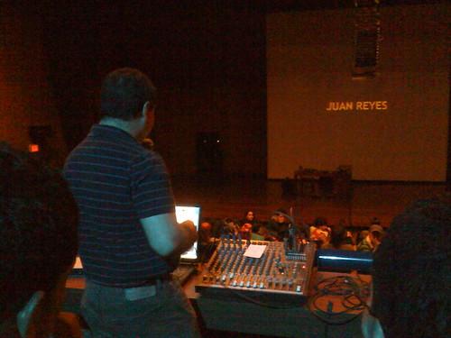 TransSesiones : Juan Reyes en Eafit. Mayo 22. 2009