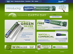 Reynolds Recycled Earth Day Promo, 2009