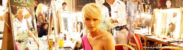 Lena Gercke Germany S Next Topmodel Und Patricia Kaiser