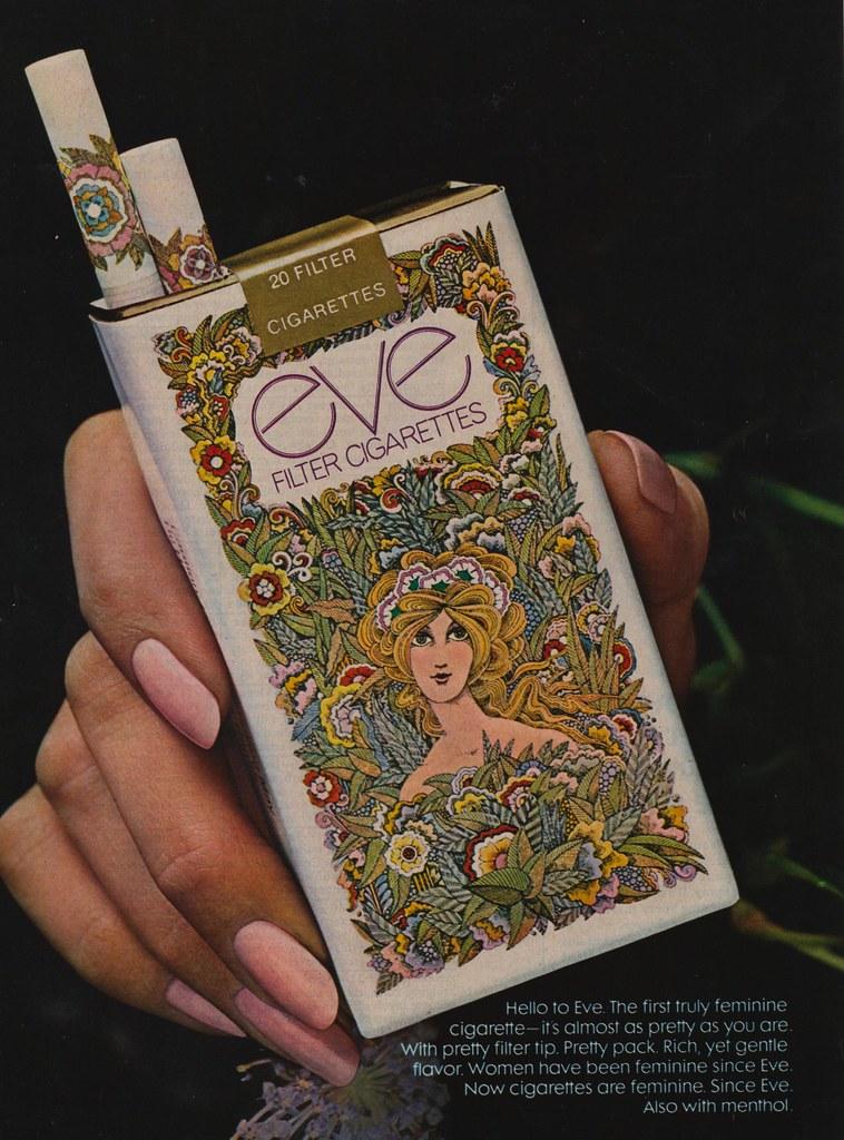 Eve Cigarettes - 1971