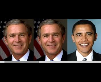 Morphing Bush to Obama