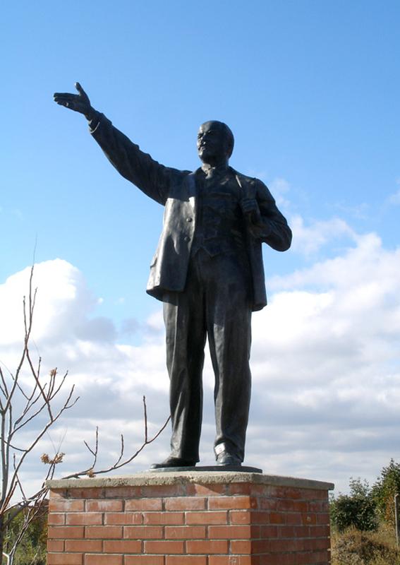Communist Statue Park (Szoborpark), Budapest, 2006: Vladimir Lenin ...