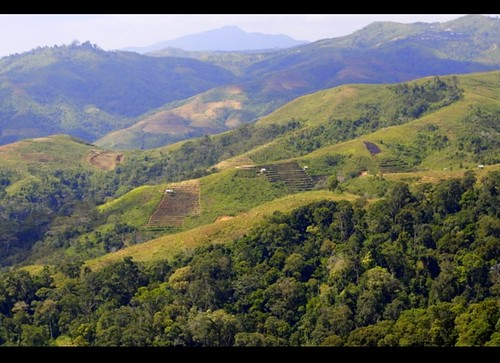 mountain flores green indonesia landscape village view east manggarai eastnusatenggara vosplusbellesphotos locpahar
