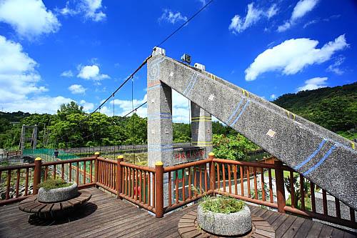 638I坪林親水吊橋