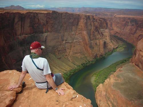 arizona usa river colorado bend fiume horseshoe horseshoebend flickraward