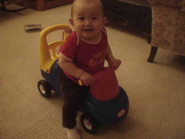 Car To Push For  Month Old
