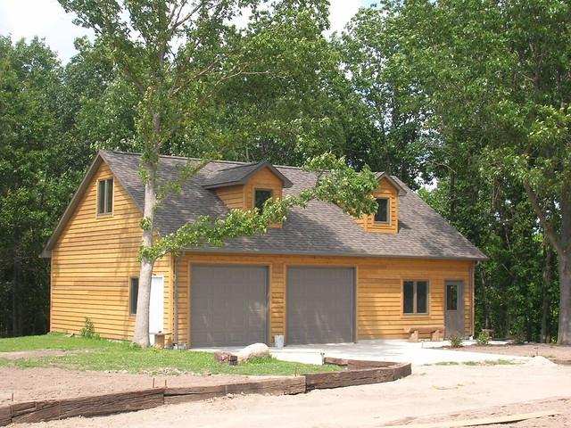 Cabin With Garage Flickr Photo Sharing