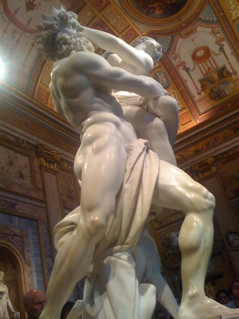 "Bernini's ""Rape of Proserpine"""