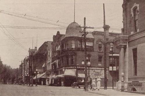 park county street ohio market ave oh warren 1910s avenue trumbull