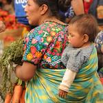 Guatemalan Mother and Baby - Antigua, Guatemala