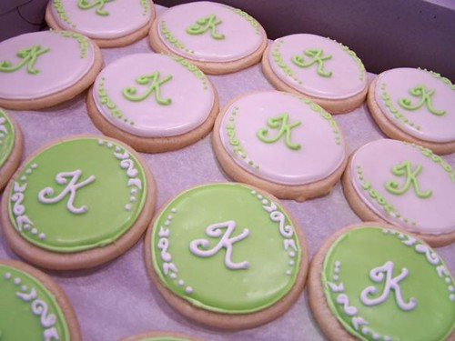 Wedding Monogram Favors