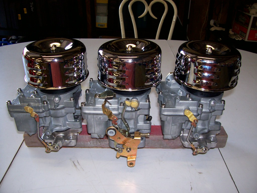 01Parts15-Tri-Power Carbs | Sent Hot Rod Carburetion in Hold