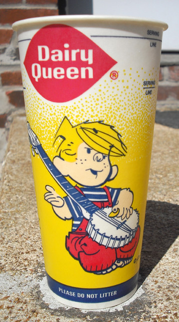 1984 Dairy Queen Wax Cup / Dennis Menace | Flickr - Photo ... Dq Blizzard Cup