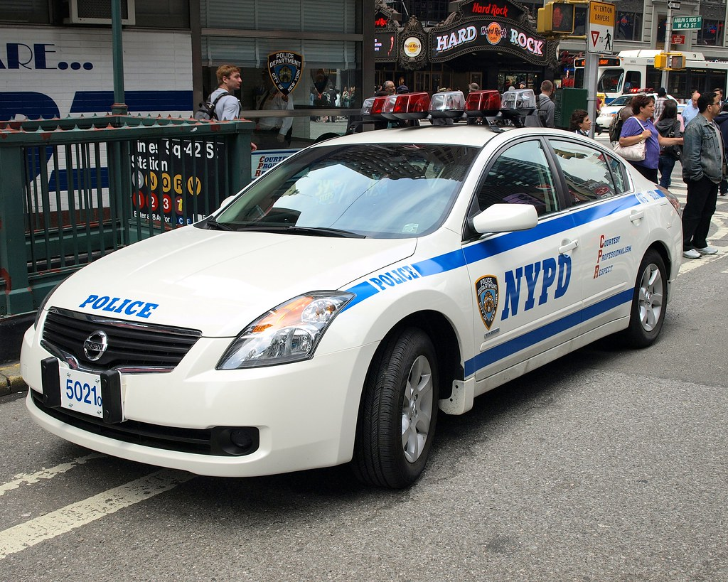 pmsc nypd nissan altima hybrid police car, times square, n… | flickr