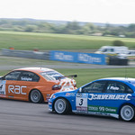 jason Plato attacks Collin Turkington