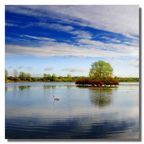 ireland ulster waterlandscape craigavon