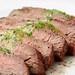 Grilled Marinated Flank Steak with Chimichurri Sauce