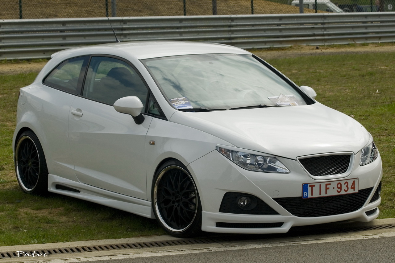 tuning seat ibiza white flickr photo sharing. Black Bedroom Furniture Sets. Home Design Ideas