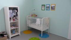 shelving, shelf, furniture, room, infant bed, bed, nursery,
