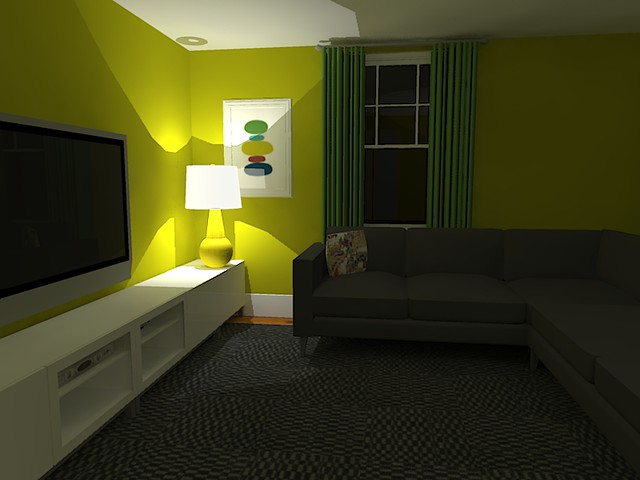 Google Sketchup Tv Room Another View We 39 Ve Already