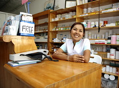 building, pharmacy technician, person, retail-store,