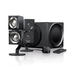 room(0.0), loudspeaker(1.0), subwoofer(1.0), electronic device(1.0), computer speaker(1.0), multimedia(1.0), sound box(1.0),