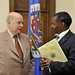 Secretary General Meets with Bahamas's Minister of Education