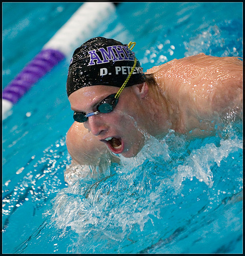 amherst college swimming