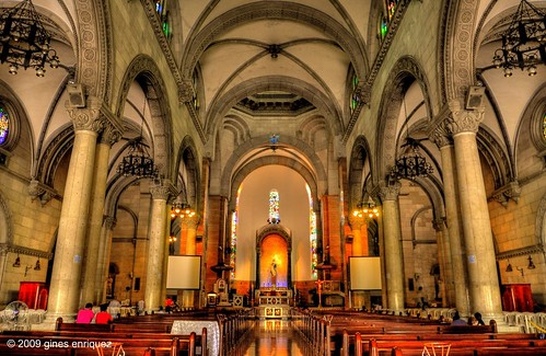 The Manila Cathedral (Ash Wednesday) by Gines.Photography