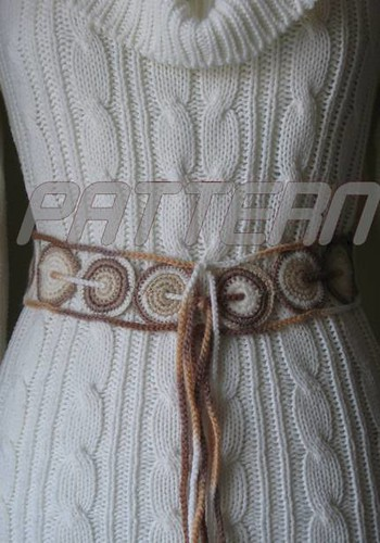 Awesome Crochet Belt Patterns Crest Easy Scarf Knitting Patterns
