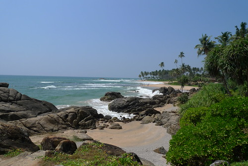 Beach near Galle Hotel