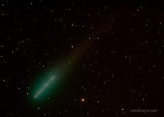 Cometa Lulin / seguimiento de la estrellas