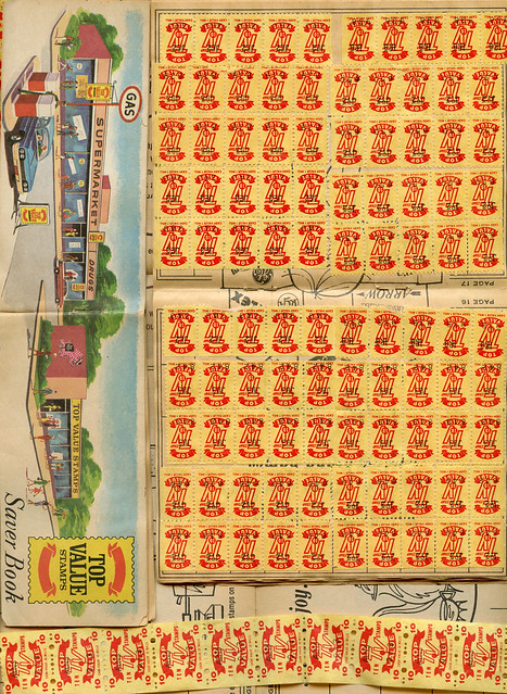 Giant Food Store Stamps