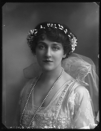Evelyn D'Alroy by Bassano 1913