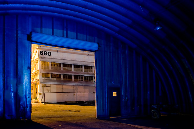 Blue Quonset