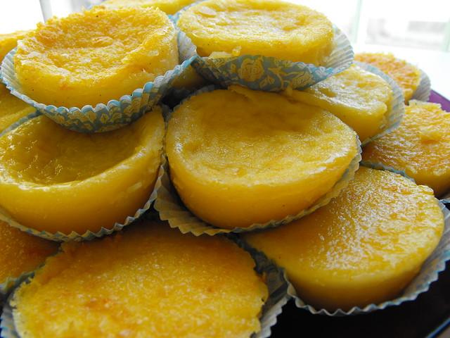 Queijadas de laranja