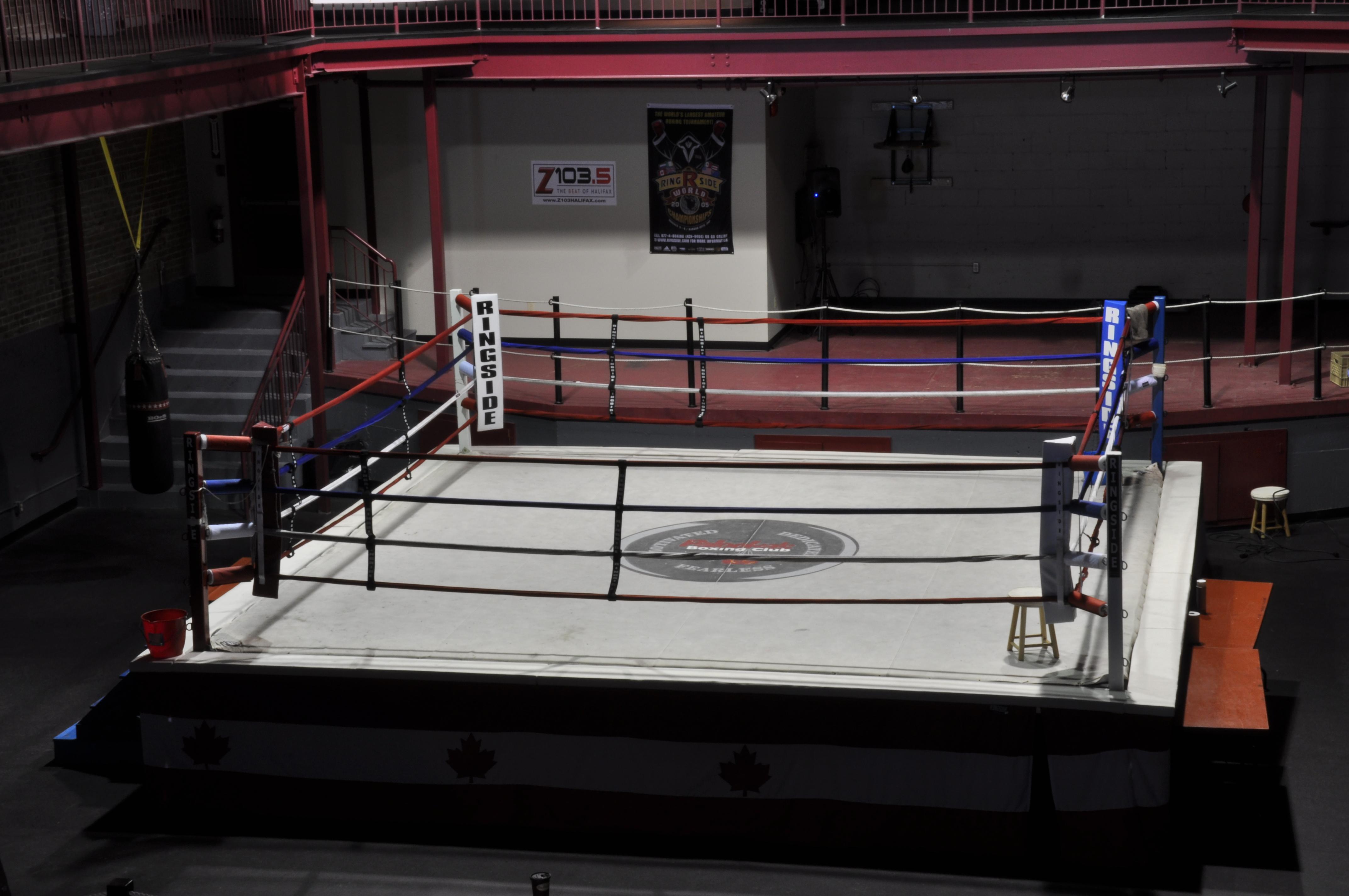 Empty Boxing Ring For - empty boxing ring Empty Gym Wallpaper