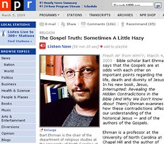 The Gospel Truth  Sometimes A Little Hazy   NPR