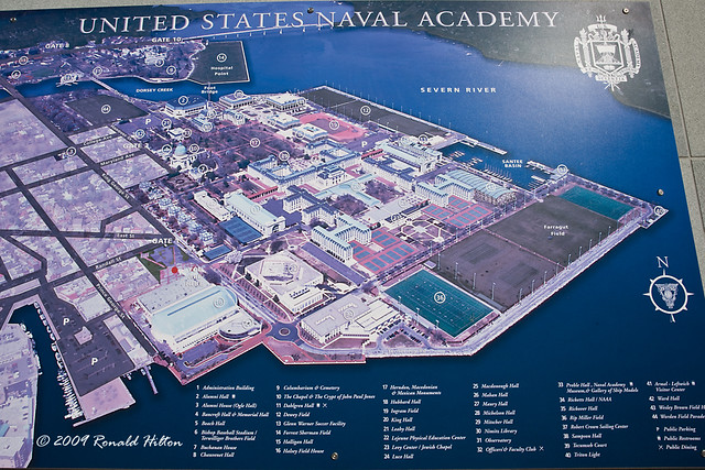 naval academy campus map flickr photo sharing