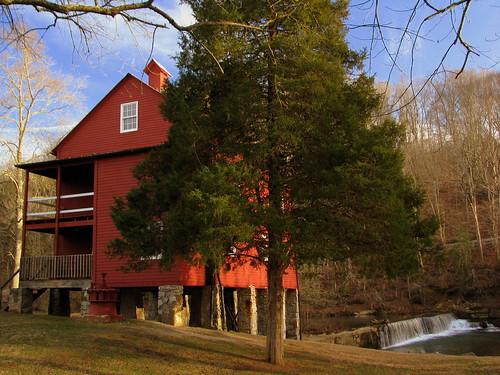 Alvin C York Gristmill & Dam