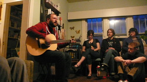 David Bazan in my Living Room