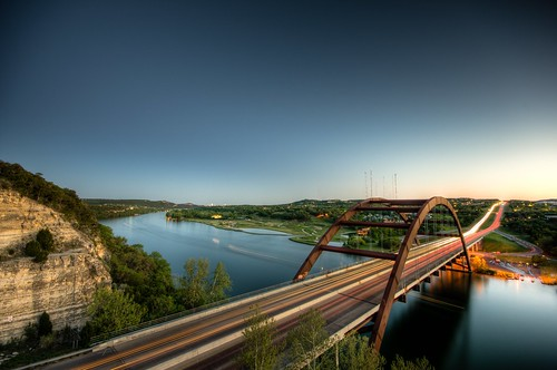 longexposure bridge sunset lake cars water architecture night photoshop austin landscape boats highway texas unitedstates dusk sigma 360 clear vehicles 1020 carlights hdr lightroom easterday pennybacker brandonwatts photomatix sigma1020 theperfectphotographer