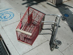 furniture(0.0), design(0.0), art(1.0), iron(1.0), shopping cart(1.0),