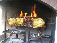 kitchen appliance(0.0), masonry oven(0.0), barbecue grill(0.0), hearth(0.0), outdoor grill(1.0), grilling(1.0), barbecue(1.0), food(1.0), dish(1.0), cuisine(1.0), cooking(1.0),