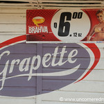 Old School & Beer Advertisements - Livingston, Guatemala