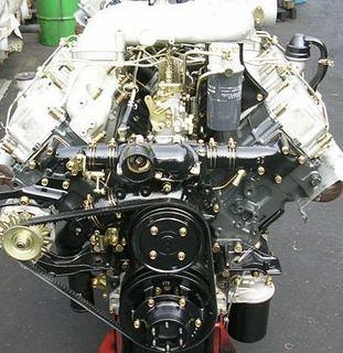 Mitsubishi 8DC9 diesel motor
