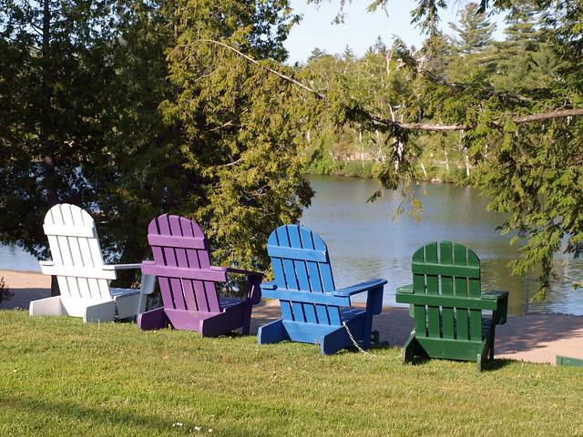 adirondack chairs by lake placid flickr photo sharing