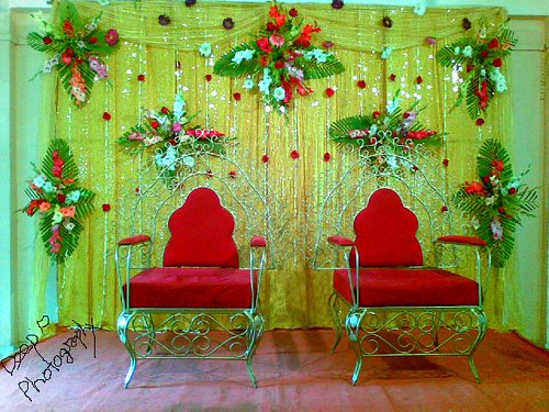 INDIA ( ASSAM)DECORATION  FOR  ASSAMESE WEDDING
