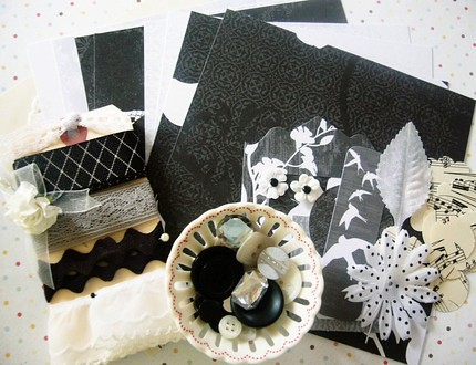 Inspiration Kit Black and White
