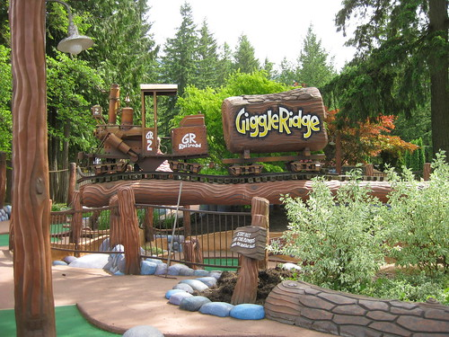Cultus Lake (Giggle Ridge Adventure Golf)